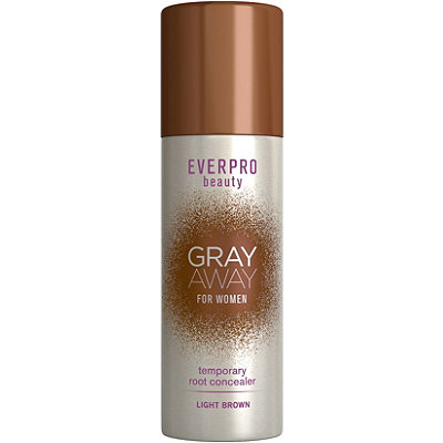 Ever Pro Gray Away Temporary Root Concealer Light Brown