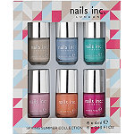 Nails Inc.Spring Summer 6PC Mini Set