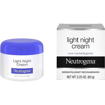 neutrogena light night cream cosmetics fragrance salon. Black Bedroom Furniture Sets. Home Design Ideas