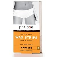 ParissaEpilatory Wax Strips for Face & Bikini