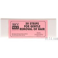 Riky WaxRemoval Strips - 50 Ct