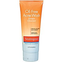 NeutrogenaOil Free Acne Wash Cream Cleanser