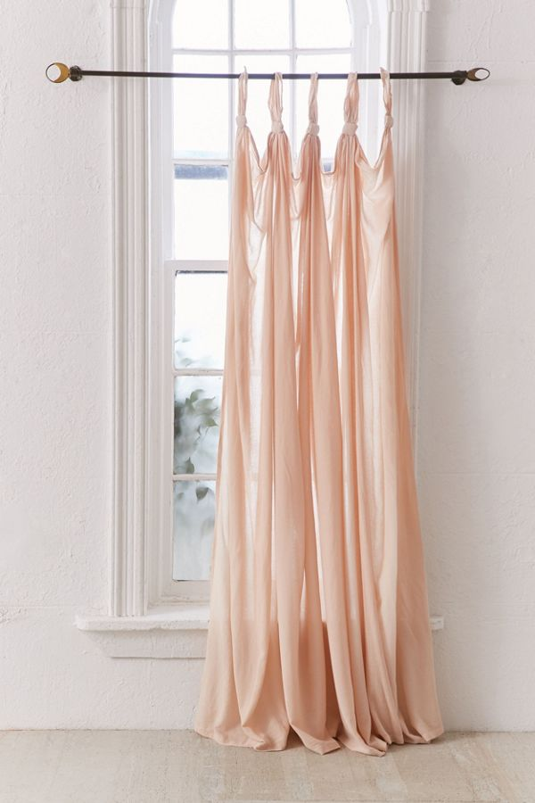 Slide View: 2: Knotted Window Curtain