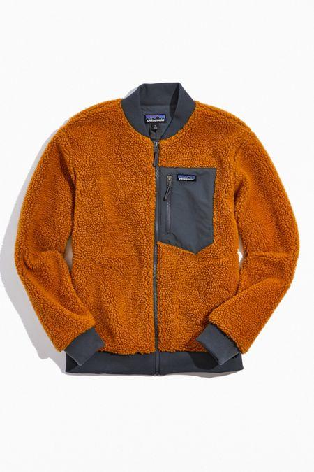 파타고니아 레트로-X 플리스 봄버 자켓 Patagonia Retro-X Fleece Bomber Jacket,Gold