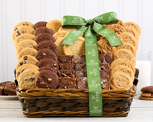 Fresh Baked Cookie and Brownie Bonanza - FREE STANDARD SHIPPING - Item No: 197