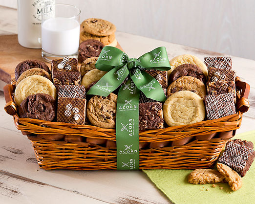 Two Dozen Cookies and Brownies - FREE STANDARD SHIPPING - Item No: 341