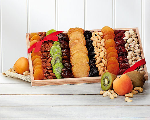 Gourmet Dried Fruit and Nut Collection - FREE STANDARD SHIPPING - Item No: 511