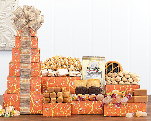 Chocolate and Sweets Tower - FREE STANDARD SHIPPING - Item No: 540