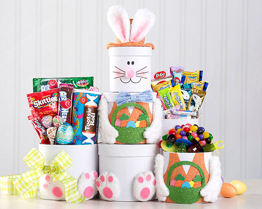 Nostalgic Candy Easter Tower - FREE STANDARD SHIPPING - Item No: 594