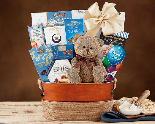 Bear Hugs - Thank You - FREE STANDARD SHIPPING - Item No: 989T