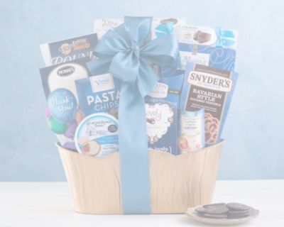 Vintners Path Holiday Tidings Gift Basket - Item No: 2016I