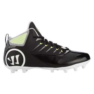 Third Degree Mid Cleat, Black with White