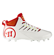Third Degree Mid Cleat, White with Red