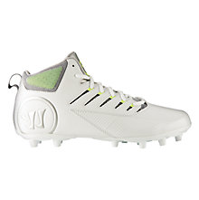 Third Degree Mid Cleat, White with Silver