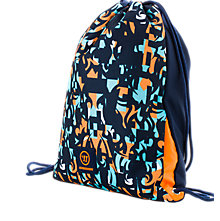 Skreamer Gym Bag, Insignia Blue with Blue Radiance & Bright Marigold