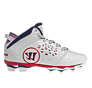 Adonis Cleat - Rabil Edition, White with Red & Blue