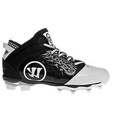 Adonis Cleat, White with Black