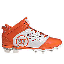 Adonis Cleat, White with Orange