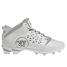 Adonis Cleat, White with Silver