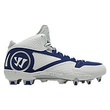 Adonis 2.0 Cleat, White with Blue