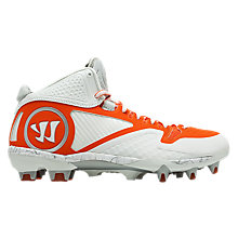 Adonis 2.0 Cleat, White with Orange