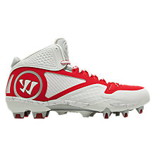 Adonis 2.0 Cleat, White with Red