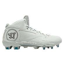 Adonis 2.0 Cleat, White with Silver