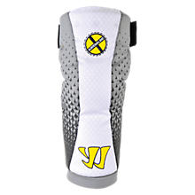 Adrenaline X1 Arm Pad, White with Grey