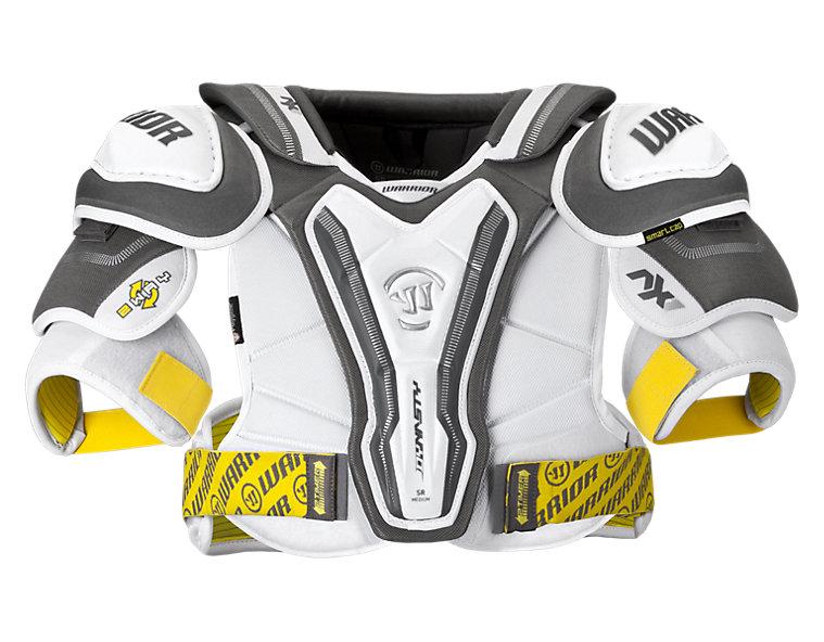 Dynasty AX1 Shoulder Pad, White