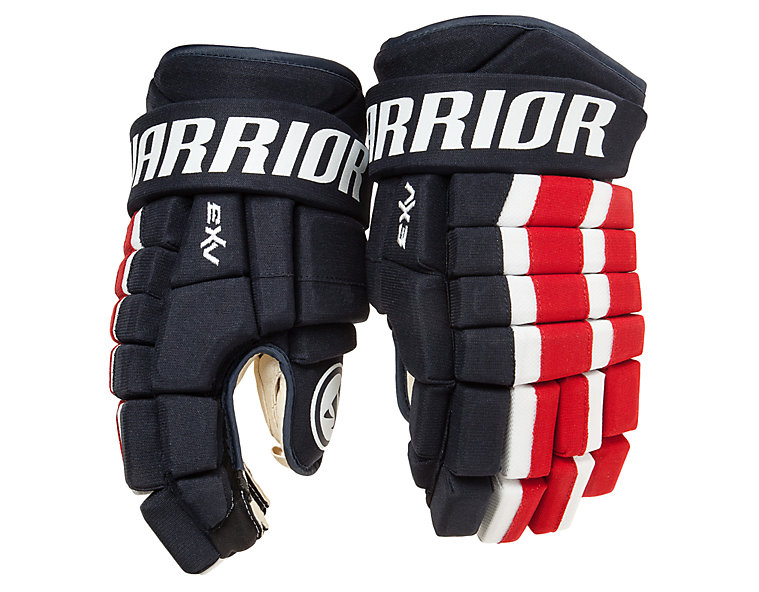 Dynasty AX3 Glove, Navy with Red & White