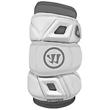 Burn Pro Elbow Pad, White with Grey