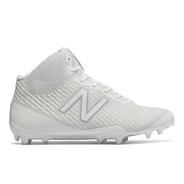 Burn X Mid Cleat, White
