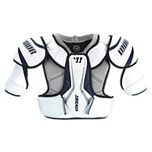 Bully Shoulder Pad, White with Black & Grey