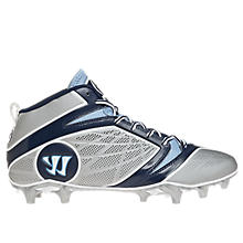 Burn Speed 6.0 Mid Cleat - Platinum Edition, Grey with Blue