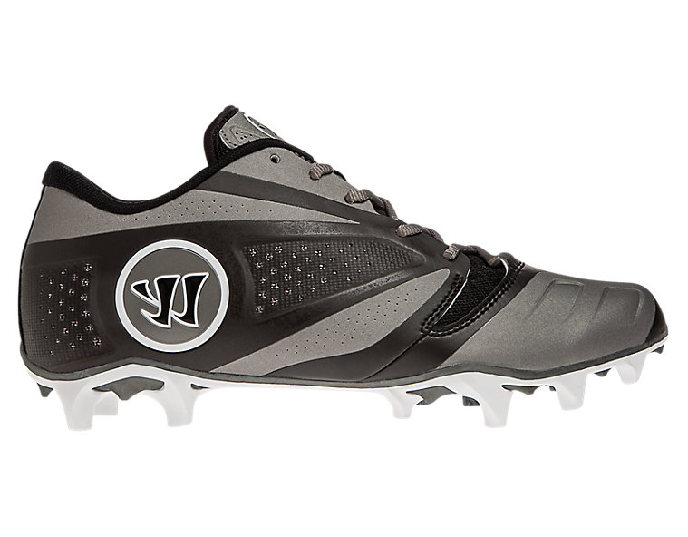 Burn 7.0 Low Cleat, Black with Titanium