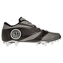 Burn 7.0 Low Cleat, Black with Grey