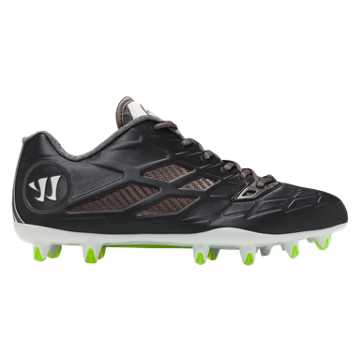 Burn 8.0 Low Cleat, Black