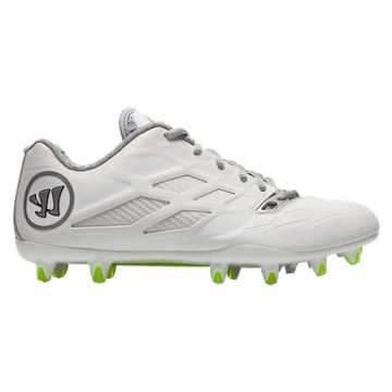 Burn 8.0 Low Cleat, White