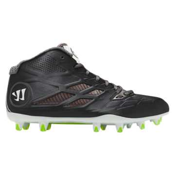 Burn 8.0 Mid Cleat, Black