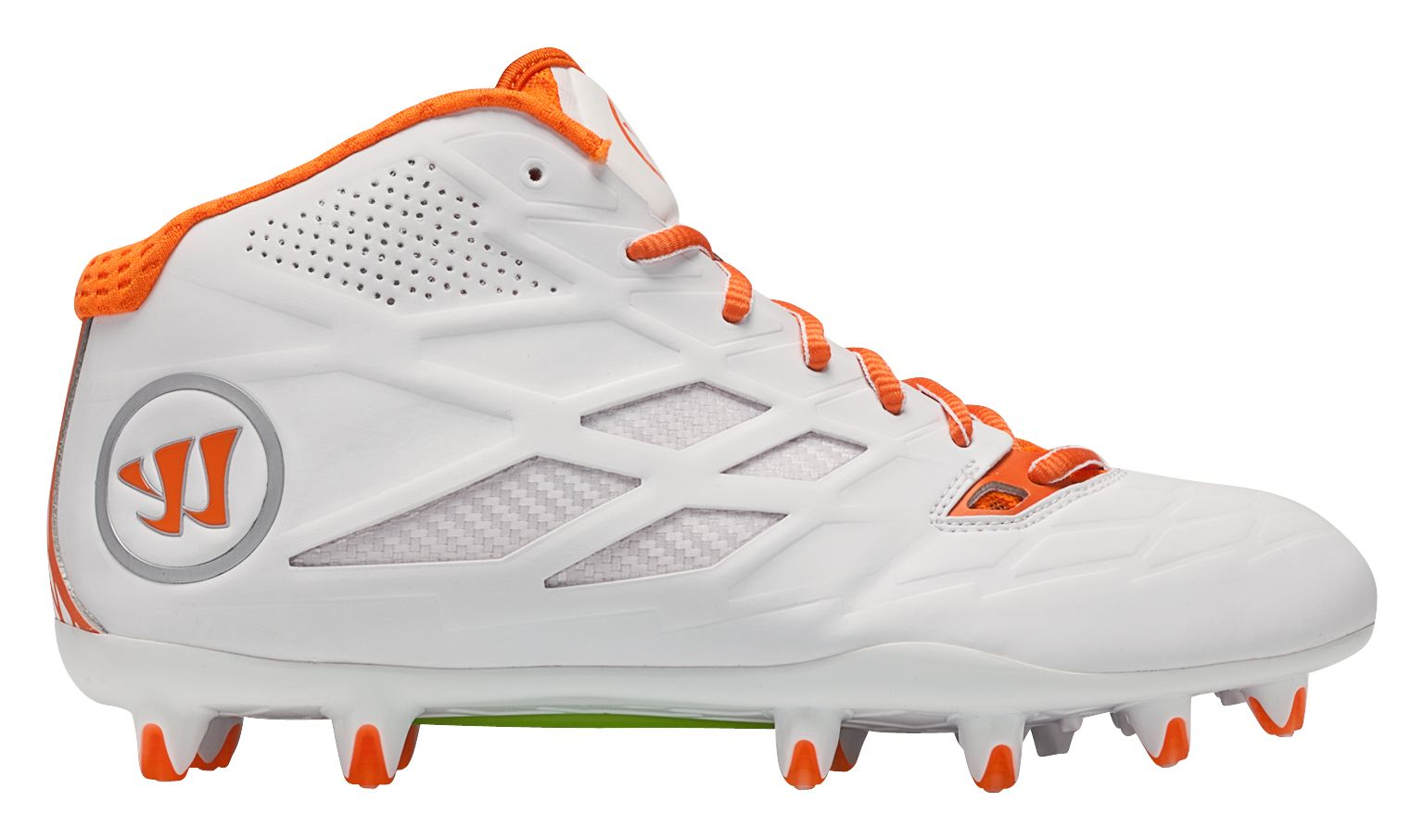 34e4adfcde92 Warrior - Burn 8.0 Mid Cleat - Men's - , - Warrior - US