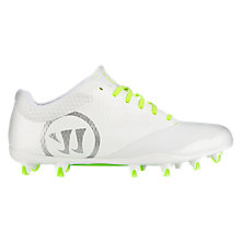 Burn 9.0 Low Cleat, White with Grey