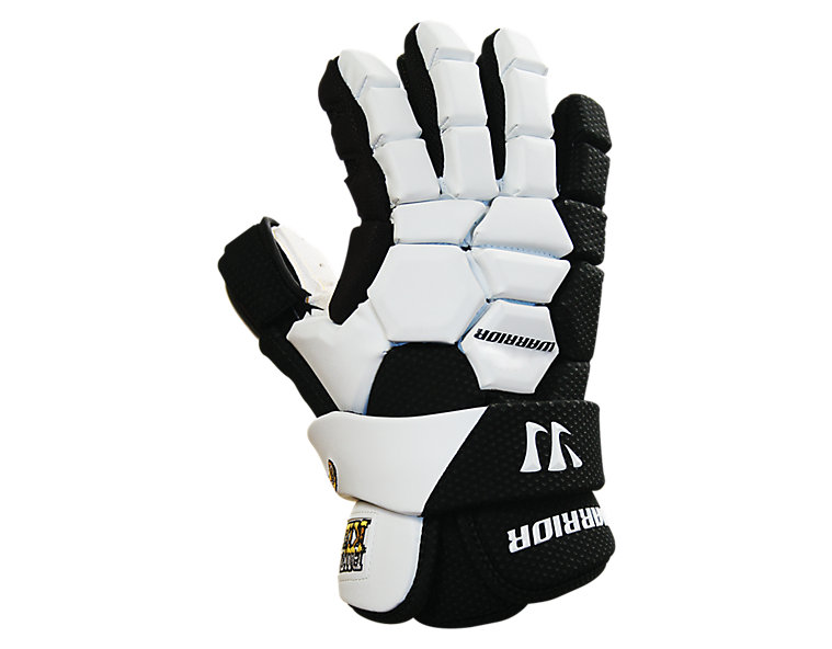 Buzzkill Goalie Glove, Black with White