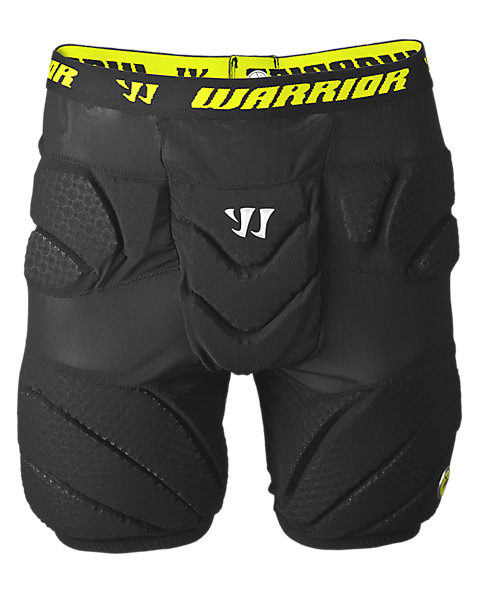 Buzzkill Goalie Leg Pad, Black with Yellow