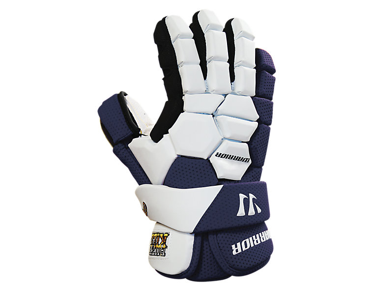 Buzzkill Goalie Glove, Navy with White