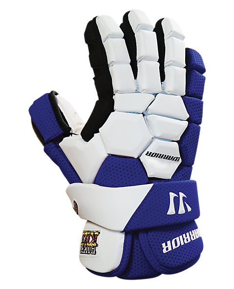 Buzzkill Goalie Glove, Royal Blue with White