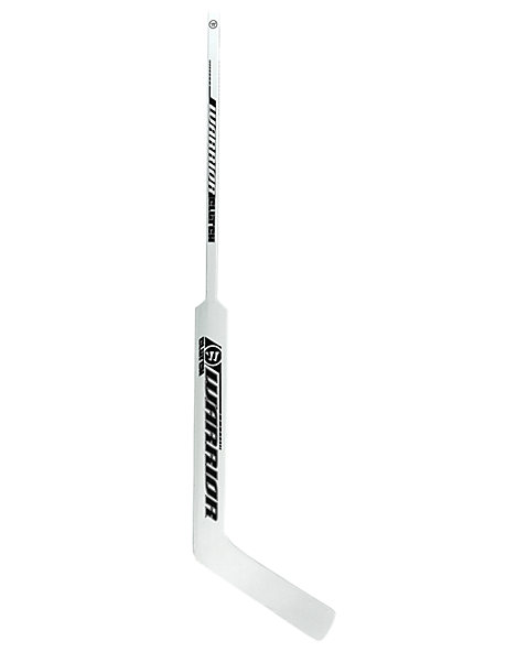 Clutch Goalie Stick, White with Black