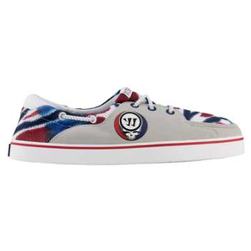 Coxswain Grateful Dead, Grey with Blue & Red