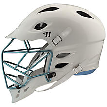 TII Custom Painted Helmet, White with Carolina Blue