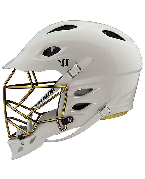 TII Custom Painted Helmet, White with Gold