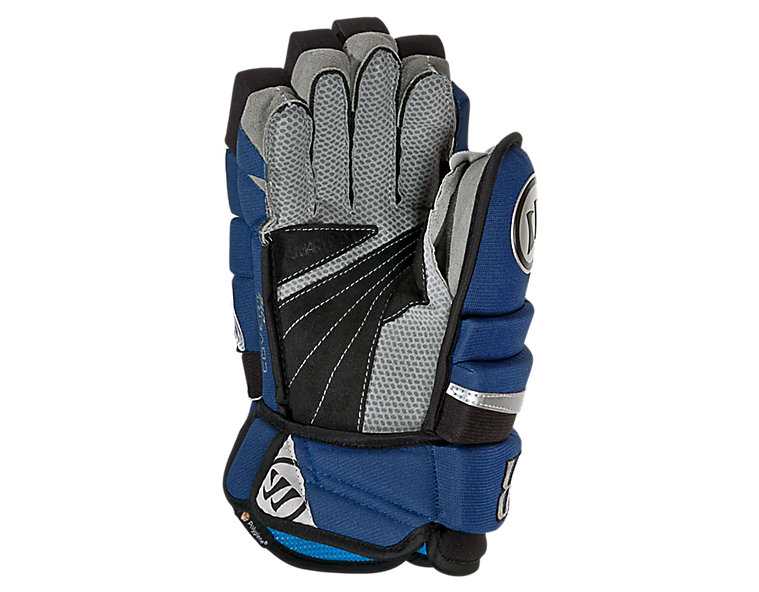Covert DT2 Glove, Blue with Black & Silver